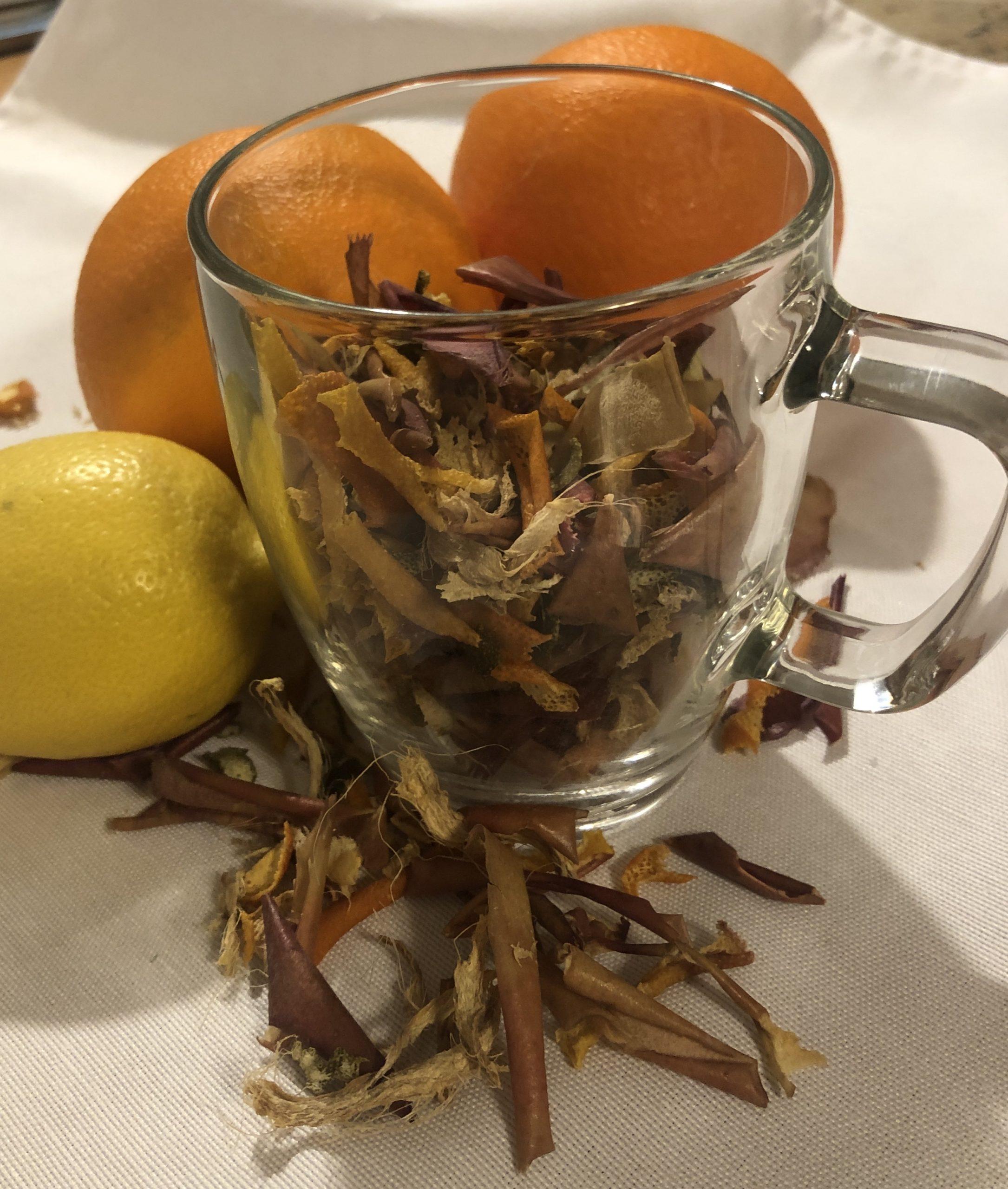 You are currently viewing Ovocný čaj so zázvorom – vlastná výroba