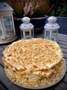 Read more about the article Torta Napoleon – výborná slávnostná maslová z 8 vrstiev