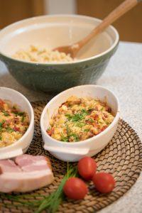 Read more about the article Domáce vaječné nočky a zapečené nočky so slaninou a paradajkami