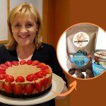 Brownies s orechami a bielou čokoládou – zmes na pečenie