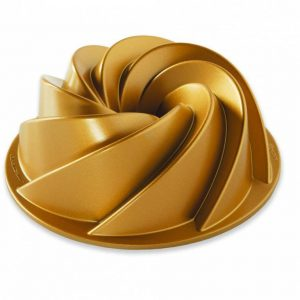 Forma na bábovku Nordic Ware Heritage zlatá 6 cup