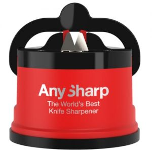 Brúska na nože AnySharp červená