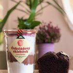 Čokoládový chlebíček s malinami – zmes na pečenie