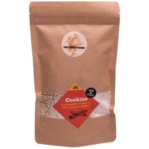 Zdravé Cookies s ovsenými vločkami, hrozienkami a škoricou – zmes na pečenie – NOVINKA