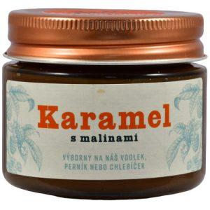 Karamel s malinami