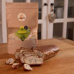 Bezlepkový chlieb s mandľovou múkou a konopným semienkom- zmes na pečenie – NOVINKA