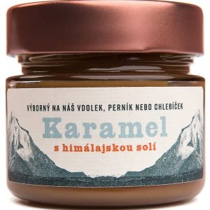 Karamel s himalájskou soľou