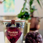 Školské koláčiky na desiatu – cookies lentilky, čokoláda a vločky s hrozienkami