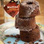 Bezlepkové muffiny s mliečnou čokoládou v dóze