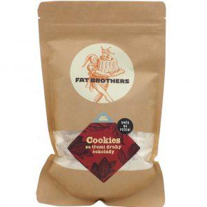 Koláčiky Cookies s troma druhmi čokolády – zmes na pečenie