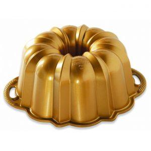 Forma na bábovku Anniversary Nordic Ware zlatá