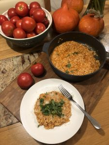 Read more about the article Rizoto z čerstvých paradajok